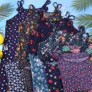 여성 냉감 플라워 끈나시 원피스 냉감홈웨어 여름잠옷
