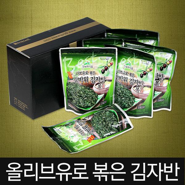 김 김자반 50gx5봉 / 대천