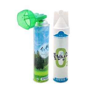 클린오투 순수산소 산소캔 1캔 산소 휴대용/의약외품
