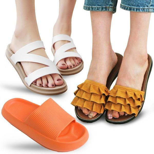 지금 사면 딱 좋은 여성 슬리퍼 샌들 뮬 블로퍼 신발