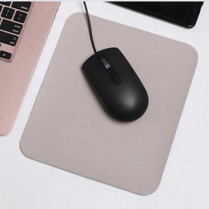 가죽 마우스패드 노트북 소형 마우스패드 투톤컬러