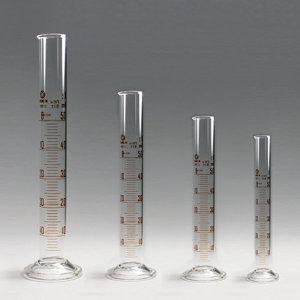 국산 매스실린더 유리 10ml~100m 과학실험  비이커 재
