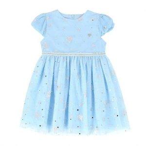 블루 별 샤 드레스 원피스 Q02DKO260