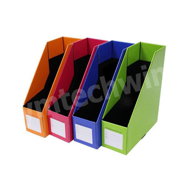 사무용품 파일꽂이 종이박스