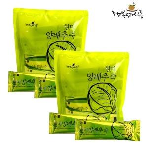 행복우리식품 현미양배추죽 (30g 20스틱) x 2봉