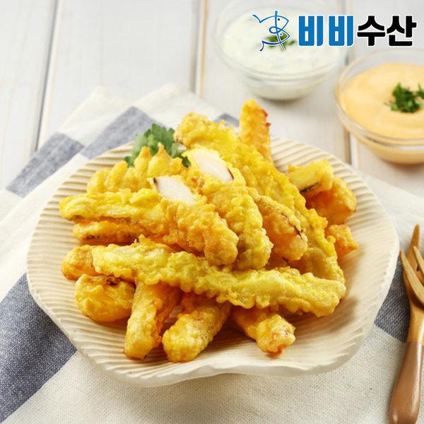 튀김공방 매콤 오징어튀김 350g(2팩구매닭근위튀김증정
