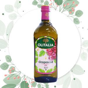 올리타리아 이탈리아 직수입 오일 포도씨유 1L