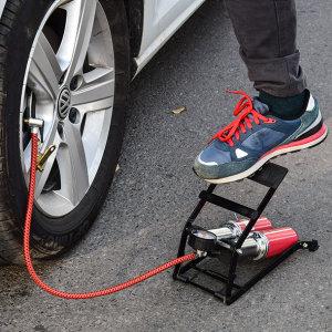 발펌프 자전거펌프 자동차 튜브 에어펌프 타이어펑크