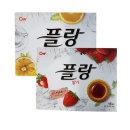 플랑 오렌지(16개입)160g+딸기(16개입)160g 타르트