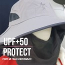 UPF+50 UV차단 버킷햇 캐디 사파리 정글 모자 GRAY