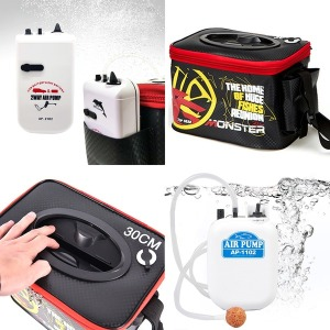 원터치 접이식 살림통 삐꾸통/휴대용 낚시기포기 세트
