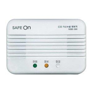 가스누설 측정기 세이프온 일산화탄소 경보기 KGD-300