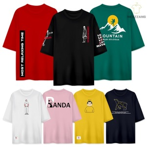 3+1M~5XL 반팔티 커플 단체 남자 남성 티셔츠 여름 티