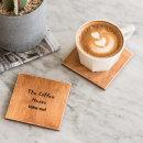 자작나무 우드 컵받침 티코스터 코스터 9.8cm