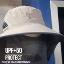 UPF+50 UV차단 버킷햇 목가림 사파리 정글모자 BEIGE