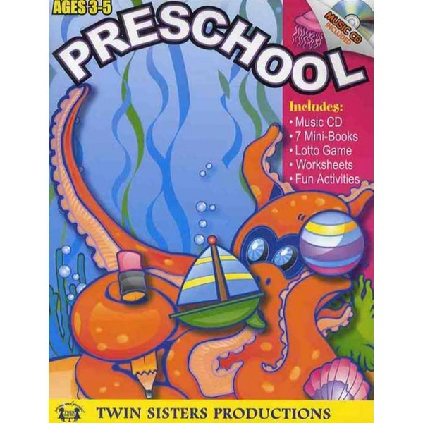 TWINSISTERSPRODUCTIO PRESCHOOL (AGES 3-5) (CD1장포함)