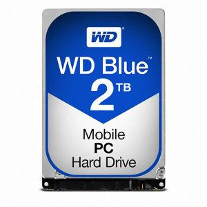 공식유통사 WD 2TB MOBILE BLUE WD20SPZX 2.5인치