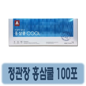 정관장 홍삼쿨 100포 / 찬물에 녹는 홍삼차 /포장가능