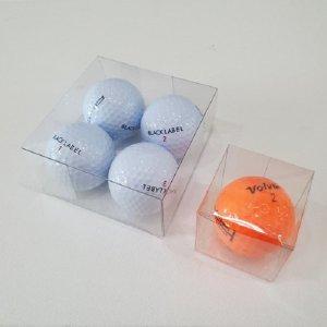 골프공 투명상자/선물상자/포장상자/50개