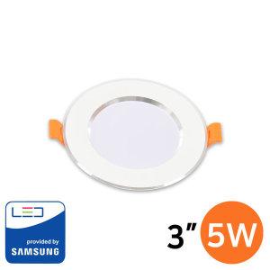 LED 다운라이트 매입등 매립등 / 실버링 3인치 5W