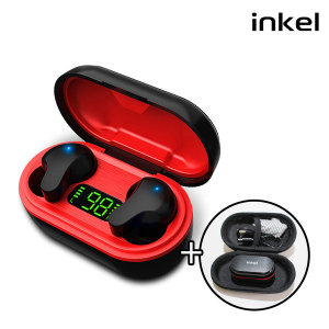 인켈 IB-100 블루투스이어폰 블랙 오토페어링 생활방수