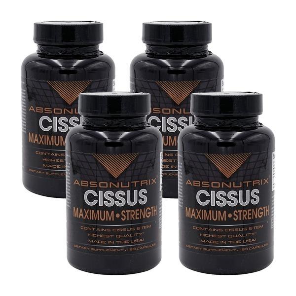 4개 앱소뉴트릭스 시서스 가루 분말 1600 mg 120 캡슐