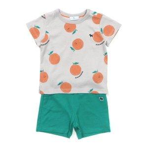 오렌지 패턴상하복 40370-672-15