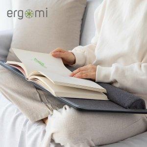 (에르고미) 에르고미 랩데스크 블랙에디션 노트북거치대 독서대 노트북받침대 미니책상