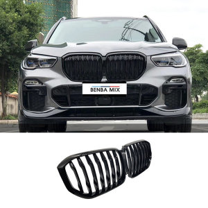 BMW G05 X5 1줄 올블랙 그릴 M퍼포먼스 G06 X6 00162