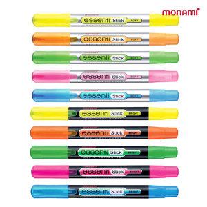 모나미 에센티 형광펜 5색세트 (스틱)