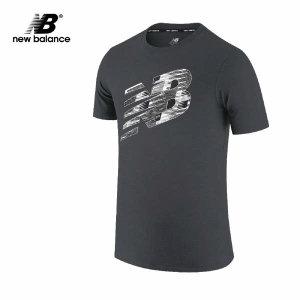 (현대Hmall)뉴발란스 그래픽 헤더테크 반팔티 AMT01071-BK 티셔츠