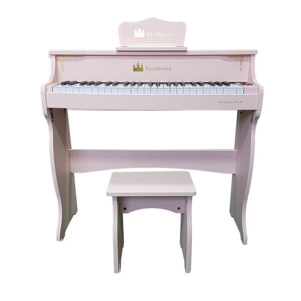 (레노피아)어린이피아노 레노피아 49건반 파스텔 핑크