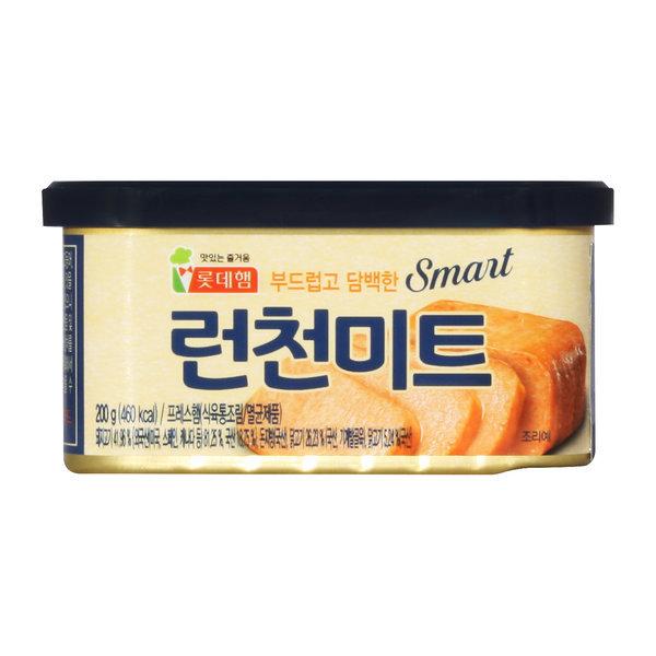 롯데햄 스마트 런천미트 200g x 10캔 / 햄 통조림
