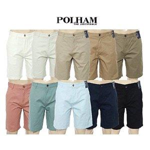 폴햄  공용 슬림핏 치노 반바지(PHZ2PH1012)