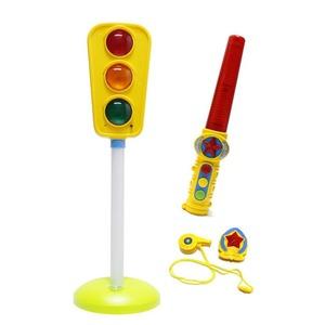 도로소리 신호등 교통표지판 경찰놀이 키즈장난감