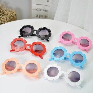 심쿵 해바라기 플라워 선글라스 UV렌즈아기안경 템마켓