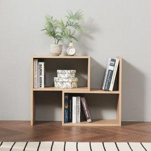 DIY 가로폭 조절 2단책장 책꽂이 공간박스 간편조립