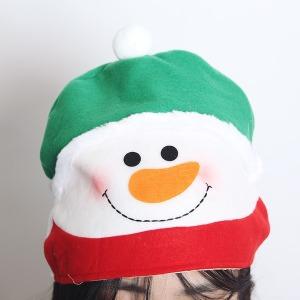 깜찍 눈사람 모자