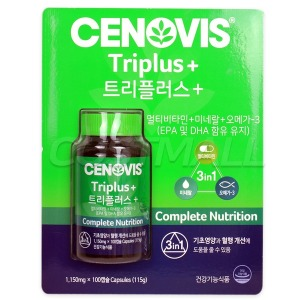 세노비스 트리플러스 1150mg x 100캡슐 멀티비타민