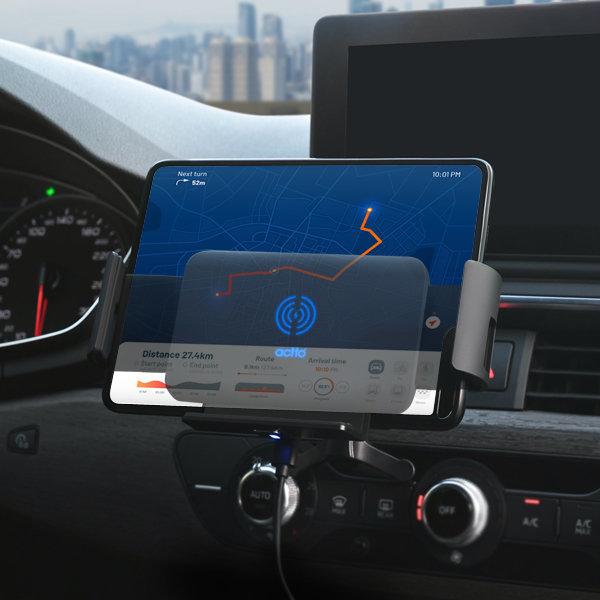 차량용 고속충전 대시보드+송풍구 갤럭시폴드 V50S