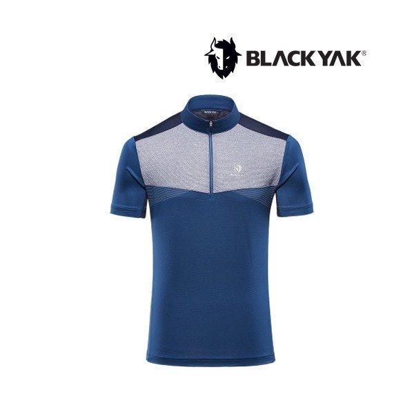 블랙야크  남성 기능성 냉감 반짚업티셔츠 M윈저티셔츠 1BYTSM9011
