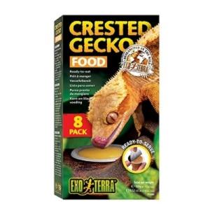 EXO TERRA 크레스티드게코 푸드 젤리 8pack
