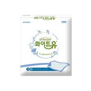 화이트유 실버 위생 펄프매트 200장 성인용기저귀