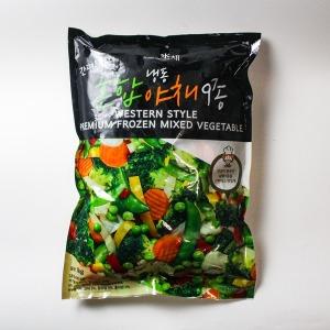 냉동 혼합야채 9종 (1kg)
