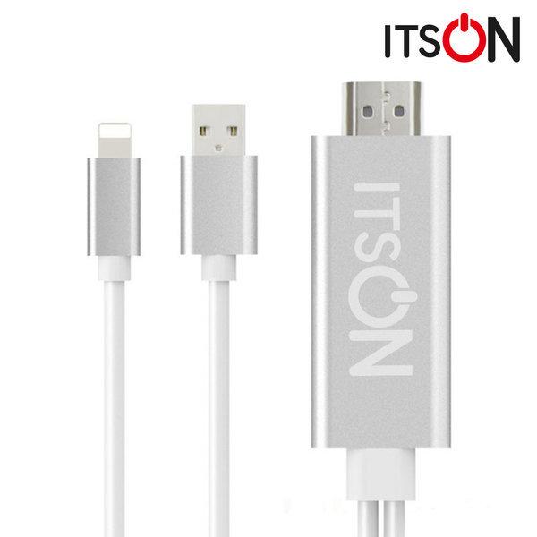 잇츠온 IT-MHL8 아이폰 8핀 TV연결 미러링 케이블