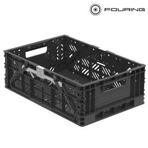 튼튼이 폴딩 트렁크정리함 수납함 세차박스 블랙