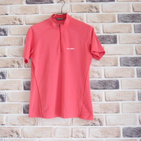에코로바 / 새옷수준 하이넥 반집업 티셔츠/여성95