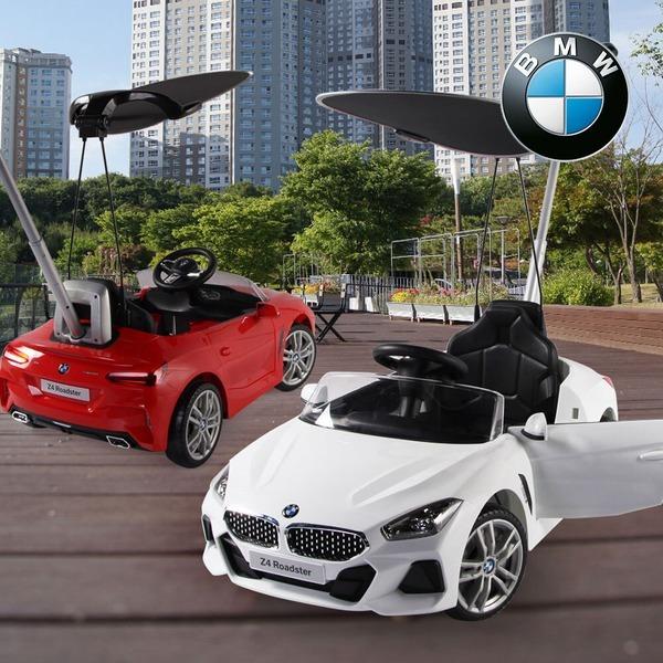 BMW Z4 푸쉬붕붕카 -화이트/레드 푸쉬카 캐노피포함