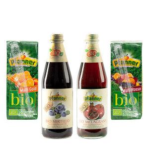 파너 과일 블루베리 석류 유기농 음료 4종