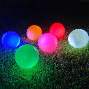 LED골프공 형광 골프공 야광골프공 야간라운딩